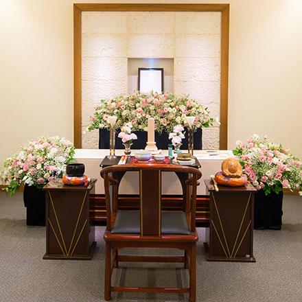家族葬専用ホール 四季の風 一日一喪家